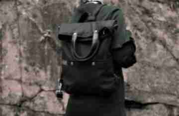 ManufakturaMMSvegan plecak torba torebka torboplecak casual