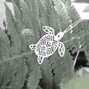 Rajski żółw wisiorki anna grys żółw, egzotyczny, wisiorek