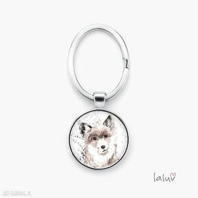 Brelok do kluczy pies breloki laluv prezent, przyjaciel, słodki