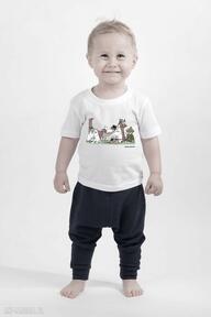 Licencjonowana koszulka dziecięca muminki piknik koszulki