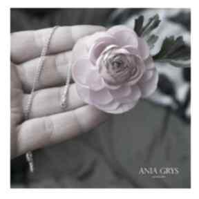 Pink diamond wisiorki anna grys diament, brylant, różowy
