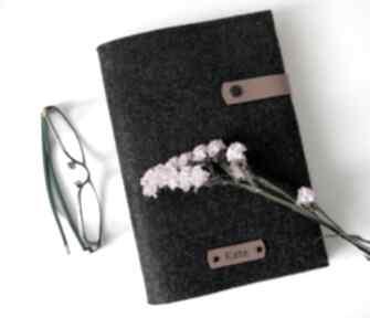 JEREMI: notes zeszyt notatnik personalizowany filc prezent