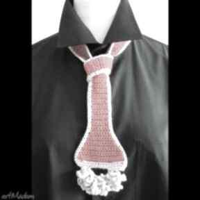 Krawat - pasek czerwony damski krawaty barska krawat, pasek