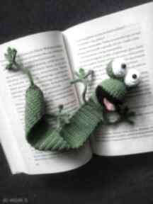 minimis? zakładka żaba prezent szydełko włóczka