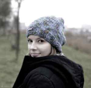 Ciepła czapka czapki the wool art czapka, ciepłaczapka