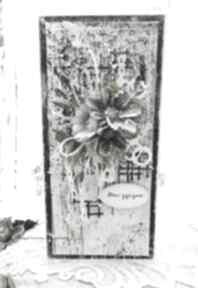 Męska kartka z pudełkiem kartki papierowa p imieniny, dla niego