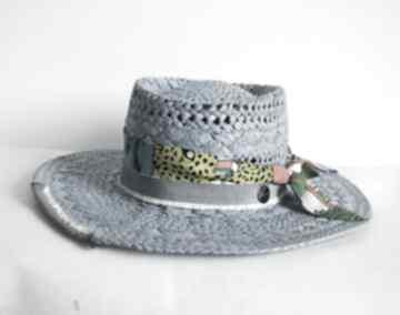 Kapelusz blue czapki fascynatory kapelusz, niebieski, letni