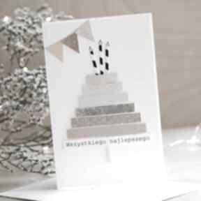 Kartka urodzinowa scrapbooking kartki annamade kartka