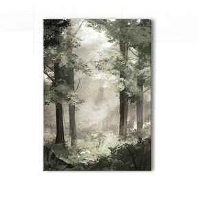 Obraz - las wydruk na płótnie liliarts obraz, płótnie, las