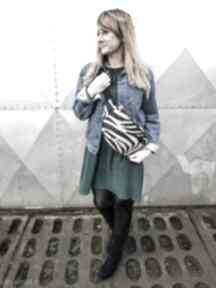 Nerka xxl zebra pojemna nerki godeco nerka, zebra, pojemna
