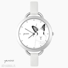 Zegarek, bransoletka - królik zegarki yenoo bransoletka, królik