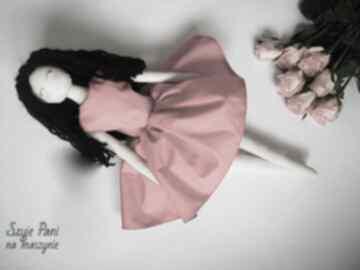 Lalka #174 lalki szyje pani szmacianka, przytulanka, eko lalka,