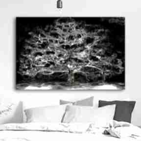 Obraz 2 częściowy dyptyk na płótnie księżycowe drzewo 180 x 120