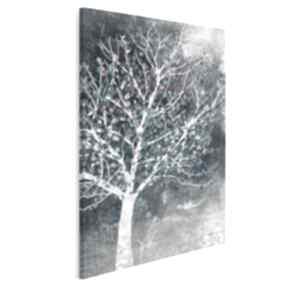 Obraz na płótnie - drzewo liście w pionie 50x70 cm 30607 vaku