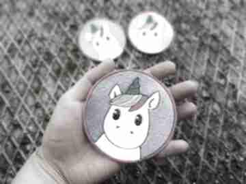 Zapetlona Nitka? naszywka unicorn