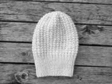 100% wool zimowa czapka z czystej wełny pastelowy róż czapki aga