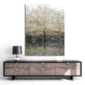 Obraz na płótnie drzewo pełni 60x80 renata bulkszas drzewo