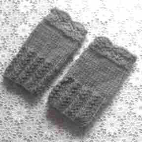 Krótkie mitenki rękawiczki molicka mitenki, wiosenne