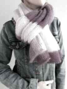 Szal mohair-jedwab dodatki the wool art szal, szalik, okrycie