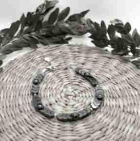 Bransoletka z hematytem - srebro rodowane omnis lapis bransoleta
