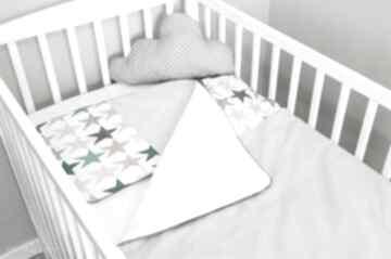 Pościel do łóżeczka zaczarowane niebo - róż pokoik dziecka nunli