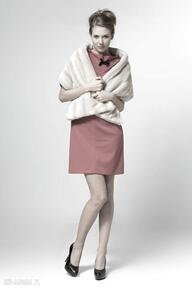 Fur scarf zamówienie szaliki pawel kuzik moda, futro, jesień,