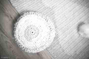 Siedzisko poduszka pokoik dziecka by monica bawełna, szydełko