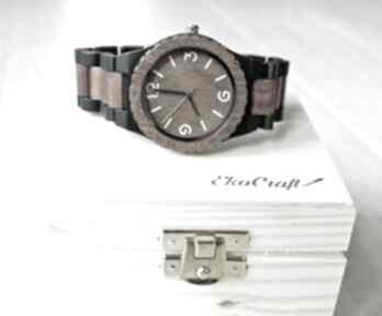 Pod choinkę! Drewniany zegarek crow zegarki ekocraft drewniany