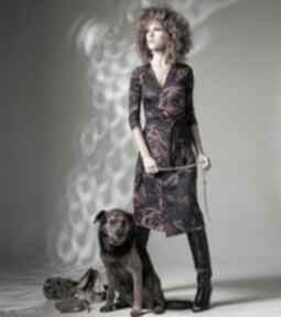 Monica - magic rose sukienki milita nikonorov elegancka