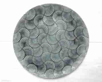 Fantazyjny talerz dekor ceramika ana dekoracyjny, patera