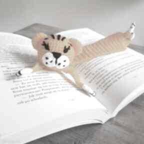 Zakładka do książki tygrys zakładki maart książki, pomysł-na