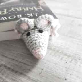 Zakładka do książki szczurek zakładki maka design książki,