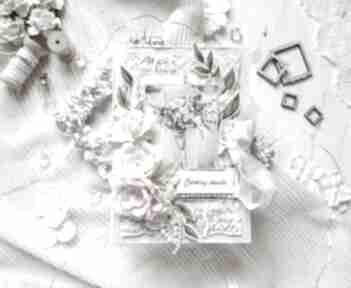 Kartka w romantycznym stylu, celebruj chwile scrapbooking kartki