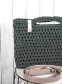 Looped butelka torebki just catch handmade szydełko, sznurek,