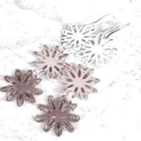 Flower 5 kolczyki c091 artseko kolczyki, kolorowe, emaliowane