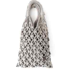 Pleciona siatka z grubego bawełnianego sznurka pule siatka