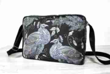 Pomysł na upominek! Single bag - pawie na ramię torebki niezwykle