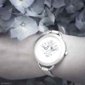 Zegarek - folkowe ptaszki, niebieskie zegarki yenoo zegarek