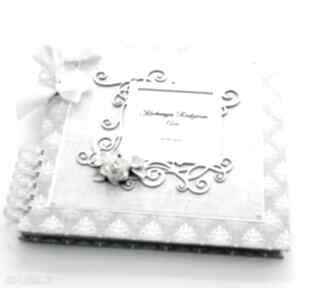 Album na ślub - księga gości podziękowania scrapbooking albumy