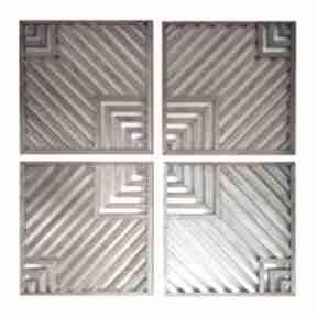 Obraz z drewna, dekoracja ścienna - mozaika 27 2 aleksandrab