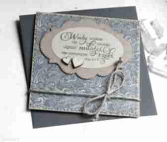 Kartka ślubna: wody wielkie: blue kartki kaktusia kartka-ślubna,