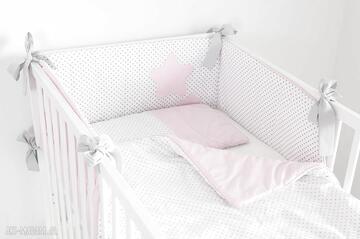 Nunlipokój-dziewczynki różowy-ochraniacz do-łóżeczka