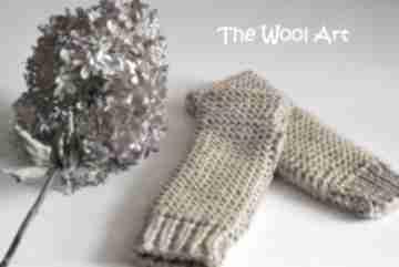 Rękawiczki mitenki the wool art rękawiczki, mitenki, na dłonie,