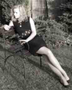 Pas damski haftowany inspiracja kaszubska paski galadea pasek