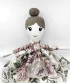 Lalka przytulanka, szmacianka xl, dla dziewczynki, 45 cm