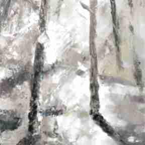 """""""popołudnie w lesie"""" obraz olejny ajan art obraz, olejny, las"""