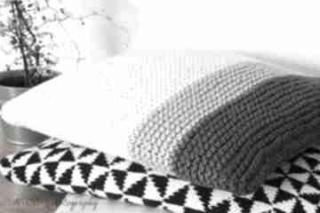 Klasyczna poduszka poduszki mondu poduszka, dziergana, bawełna