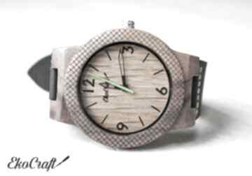 EkoCraft. Drewniany zegarek OAK EAGLE