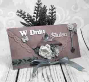 Kartka z okazji ślubu k50 scrapbooking kartki shiraja ślub