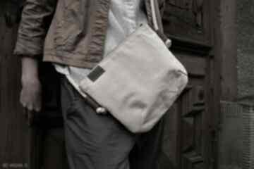 Mini vegan bawełna na ramię manufakturamms vegan, torebka, torba